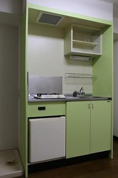 47 内装リフォーム キッチンを手軽に綺麗にリフォーム 施工後(グリーン系).jpeg