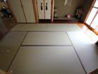 金沢市若宮町 F様邸 ヒノキ床+和紙表(若草色)