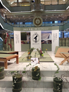 小松イ草コレクションお披露目式を開催しました。