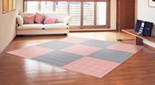敷き詰め簡単タイル畳/花たたみ