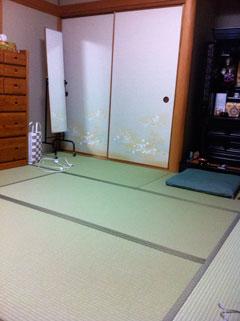 金沢市横山町T様邸 畳替え工事