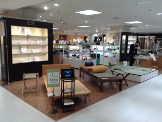 「小松イ草拡大プロジェクト」新商品を香林坊大和で販売しました。